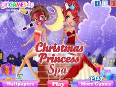 Christmas Princess Spa