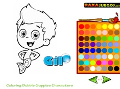 Coloring Bubble Guppies Characters