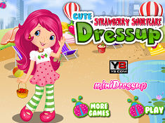 Cute Strawberry Shortcake Dress Up