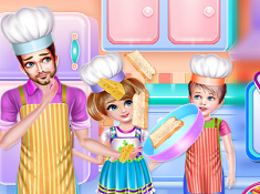 Daddy Cooking Time