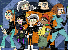 Danny Phantom Sort My Jigsaw