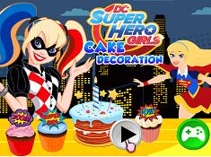 DC Super Hero Girls Cake Decoration