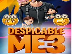 Despicable Me 3 Hidden Letters