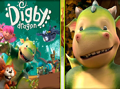 Digby Dragon Memory