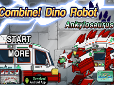 Dino Robot Combine Ankylosaurus