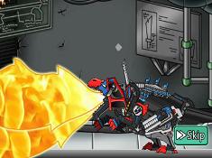 Dino Robot Repair Megalosaurus