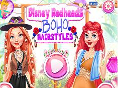 Disney Redhead BOHO Hairstyles