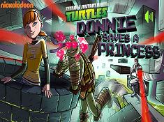 Donnie Saves a Princess