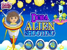 Dora Alien Shooting