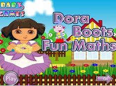 Dora and Boots Fun Maths