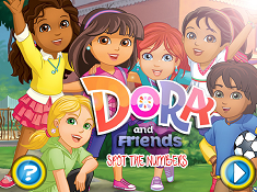 Dora and Friends Spot the Numbers