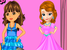 Dora and Sofia Beauty Contest