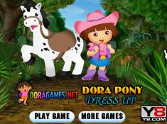 Dora Pony Dress Up