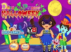 Dora Prepare Halloween