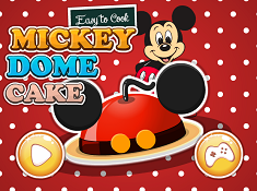 Easy to Cook Mickey Dome Cake
