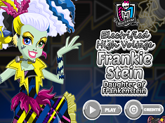 Electrified Frankie Stein