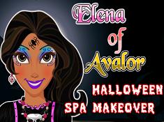 Elena of Avalor Halloween Spa Makeover