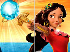 Elena of Avalor Sliding Puzzle