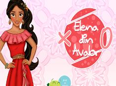 Elena of Avalor Tic Tac Toe