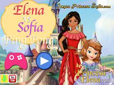 Elena vs Sofia Ping Pong