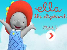 Ella the Elephant Match