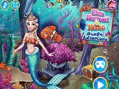 Elsa Mermaid Nemo Ocean Adventure