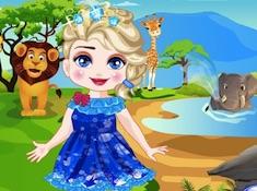 Elsa Safari Slacking