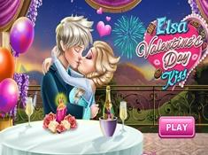 Elsa Valentines Day Kiss