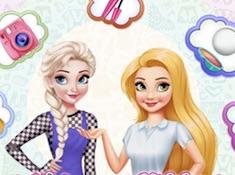Elsa vs Rapunzel Fashion