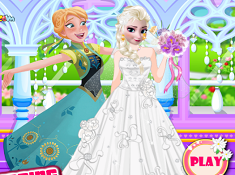 Elsa Wedding Day Prep