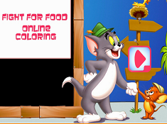 Fight For Food Online Coloring