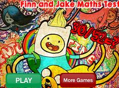 Finn and Jake Math Test