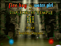 Fire Boy and Water Girl in The Forest Temple 2