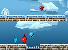 Fireboy and Watergirl Ice Land
