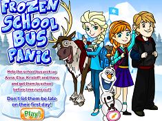 Frozen School Bus Panic