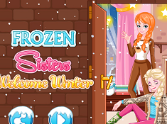 Frozen Sisters Welcome Winter