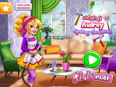 Girls Fix It Audrey Spring Cleaning