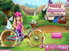 Girls Fix It Rapunzels Bicycle