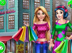 Girls Mall Shopping