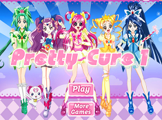 Glitter Force Dress up
