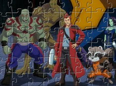 Guardians of the Galaxy Puzzle