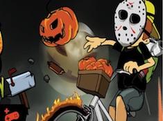 Halloween Newspaper Boy