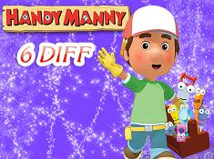 Handy Manny 6 Diff