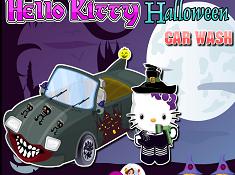 Hello Kitty Halloween Car Wash