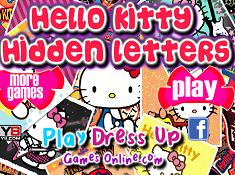 Hello Kitty Hidden Letters