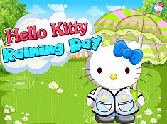 Hello Kitty Raining Day