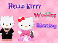 Hello Kitty Wedding Kissing