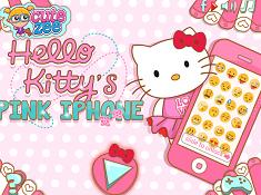 Hello Kittys Pink Iphone