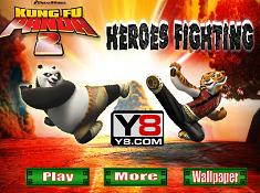 Heroes Fighting