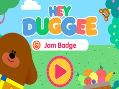 Hey Duggee Jam Badge